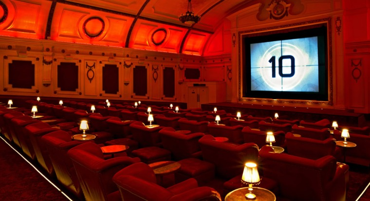 The Electric Cinema in Notting Hill is certainly posh, but where would you sit?
