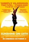 Sunshine on Leith film poster