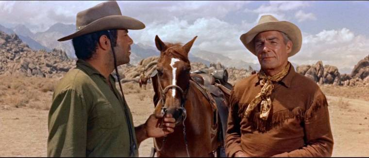 Randolph Scott in Ride Lonesome