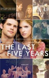 The Last Five Years (Richard LaGravenese, 2014)