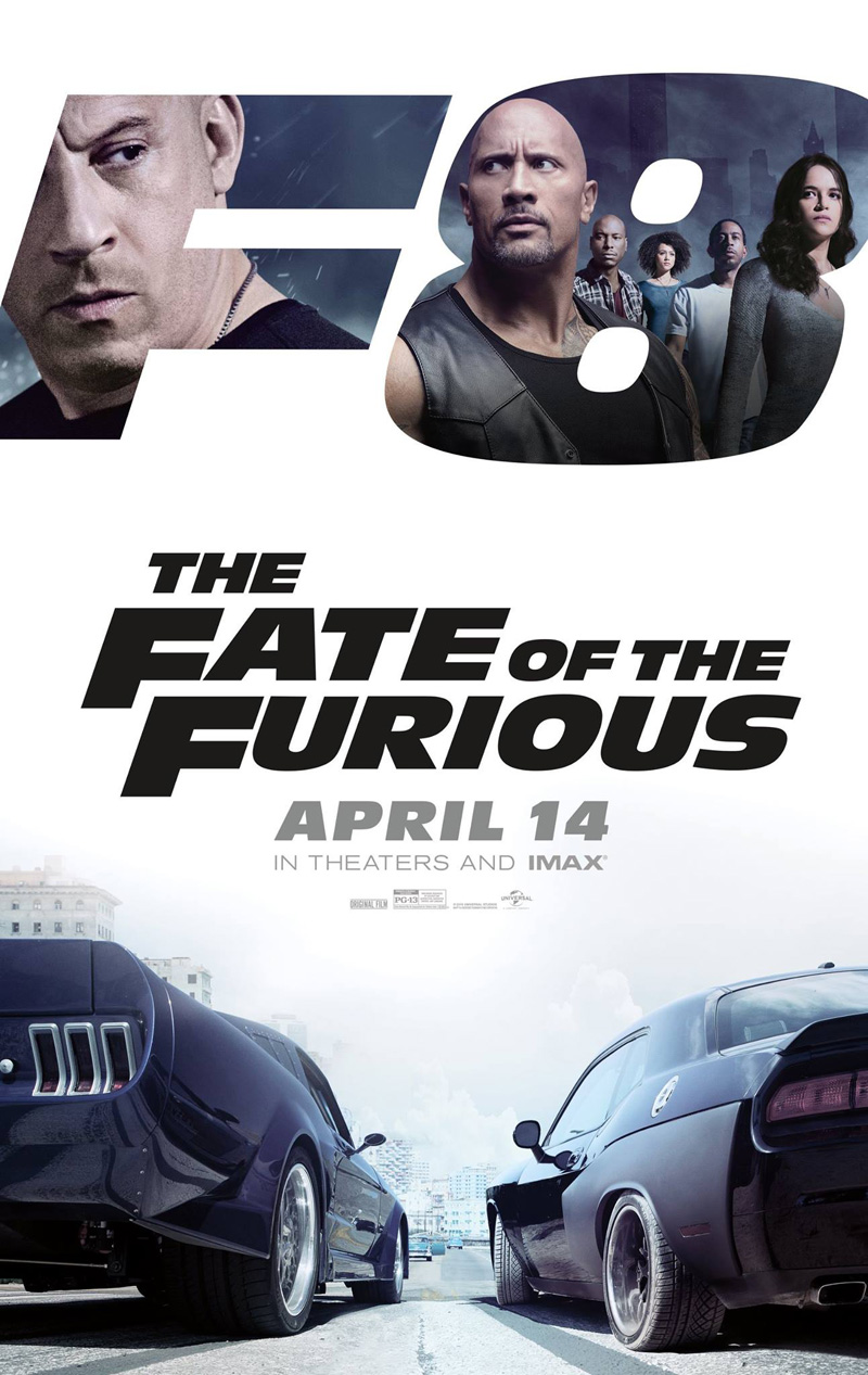The Fate of the Furious (aka Fast & Furious 8) (F. Gary Gray, 2017)