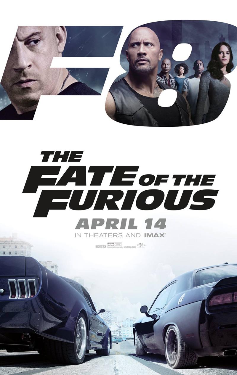 The Fate of the Furious (aka Fast & Furious 8) (F. Gary Gray, 2017)