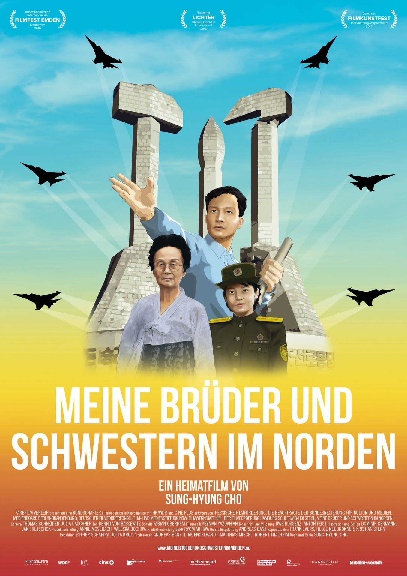 Meine Brüder und Schwestern im Norden (My Brothers and Sisters in the North) (Sung Hyung Cho, 2016)