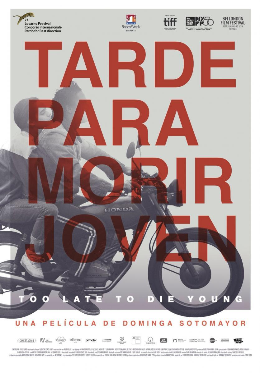 Too Late to Die Young film poster
