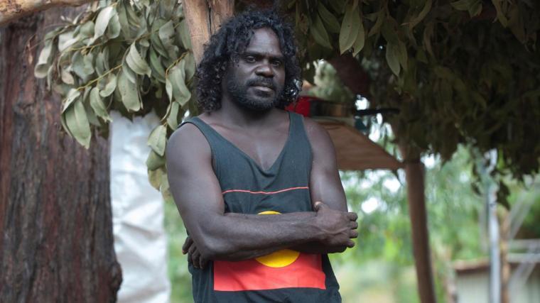 An Aboriginal man