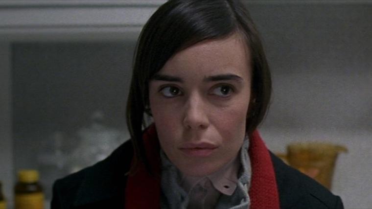 Elodie Bouchez looks concerned