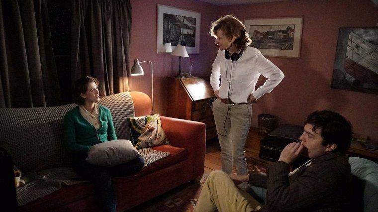 Joanna Hogg directing