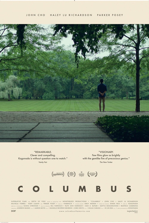 Columbus film poster