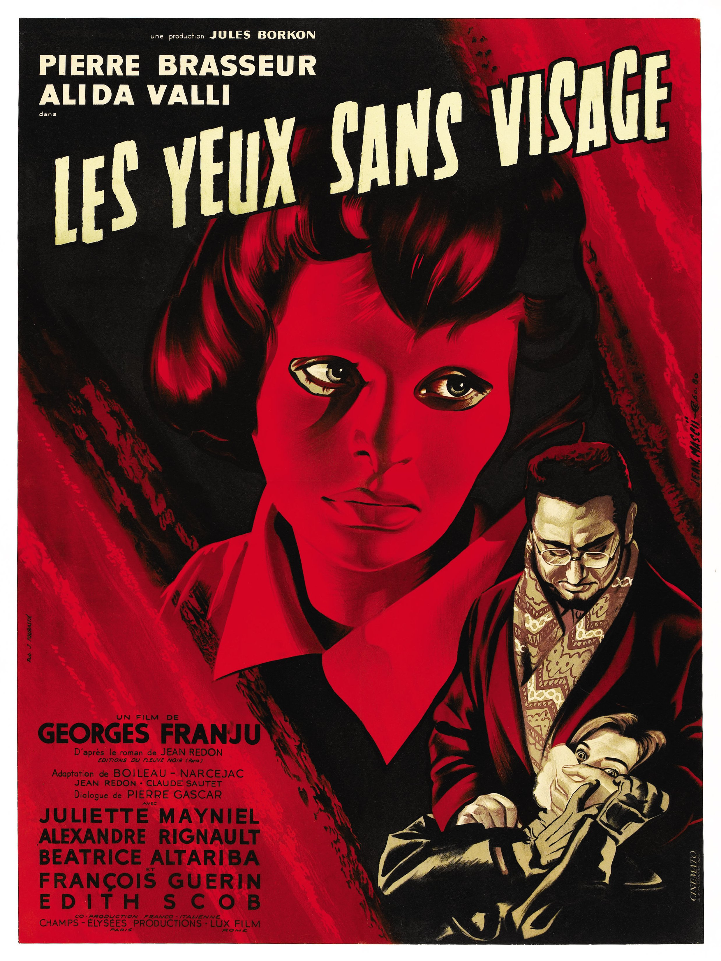 Eyes Without a Face film poster