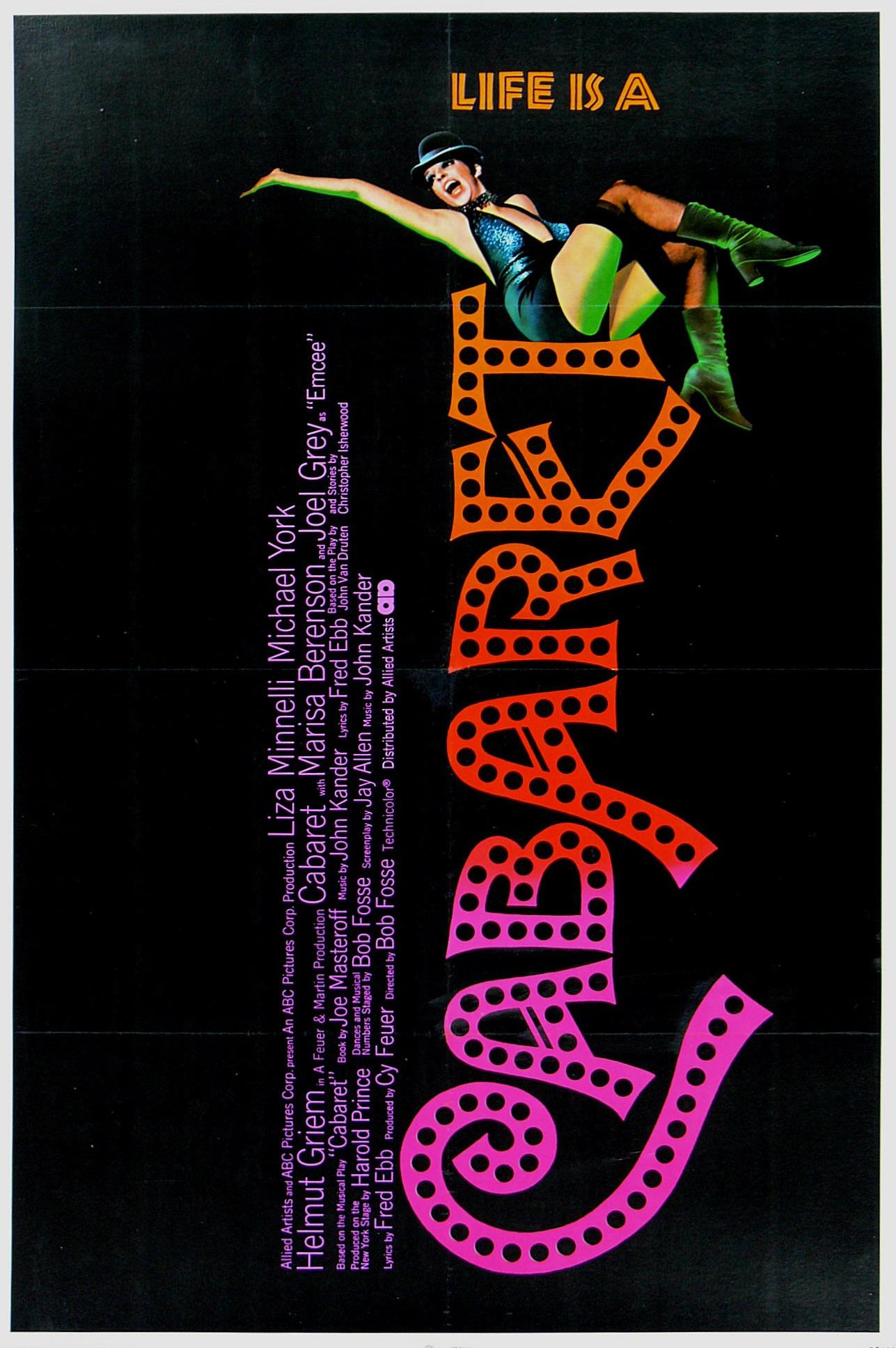 Cabaret film poster