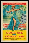 Love Me or Leave Me film poster