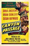 Canyon Passage film poster