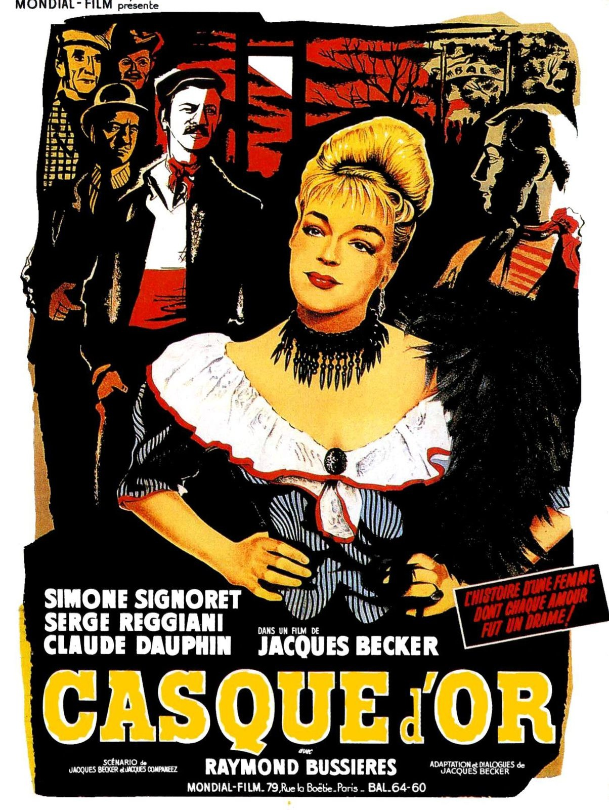 Casque d'or film poster
