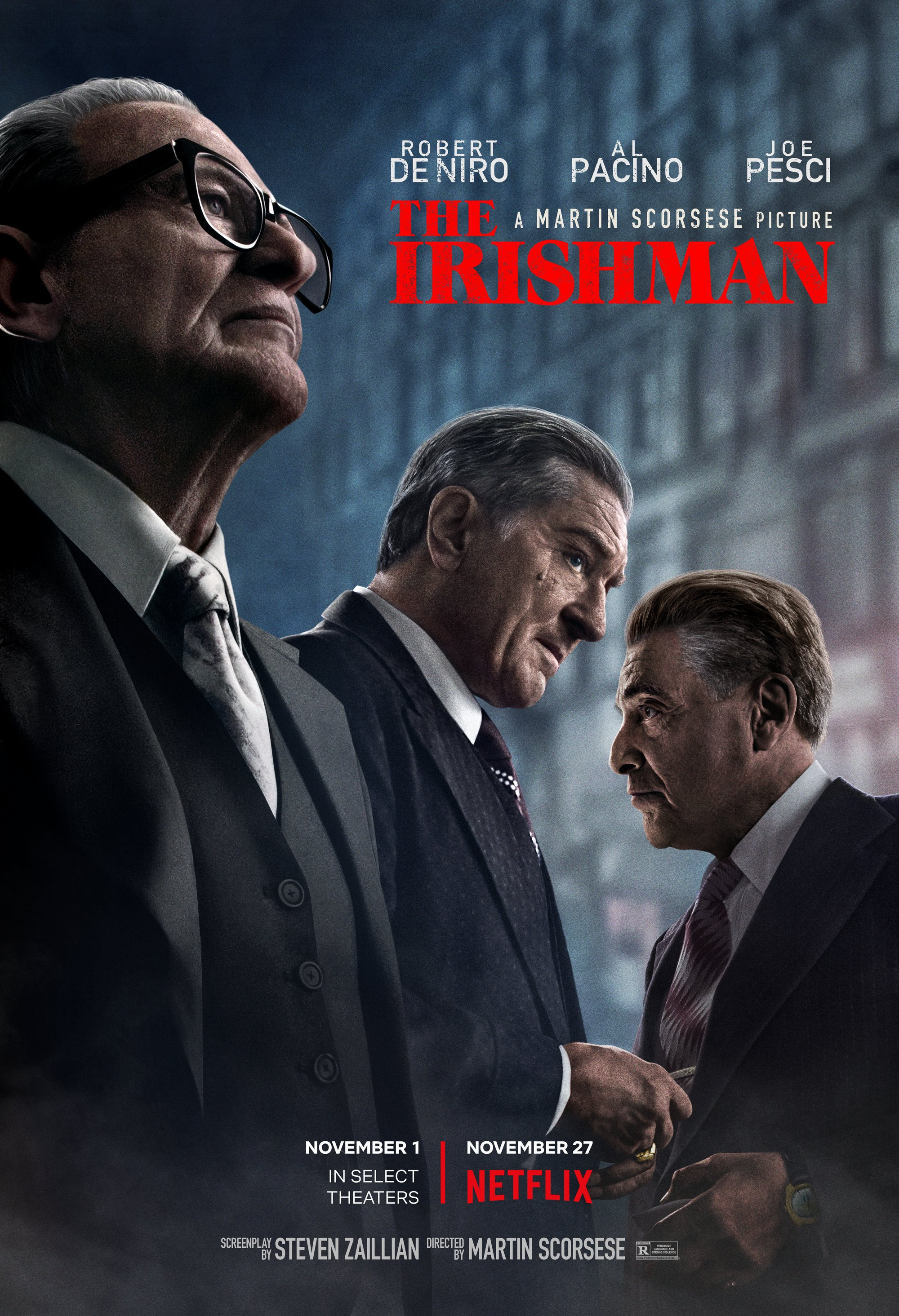 The Irishman film poster