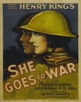 She Goes to War film poster