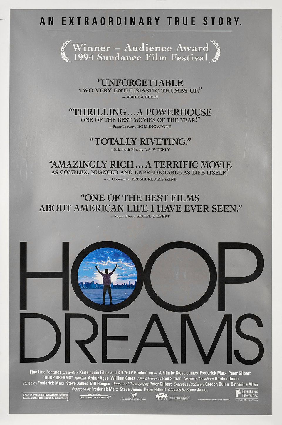 Hoop Dreams film poster
