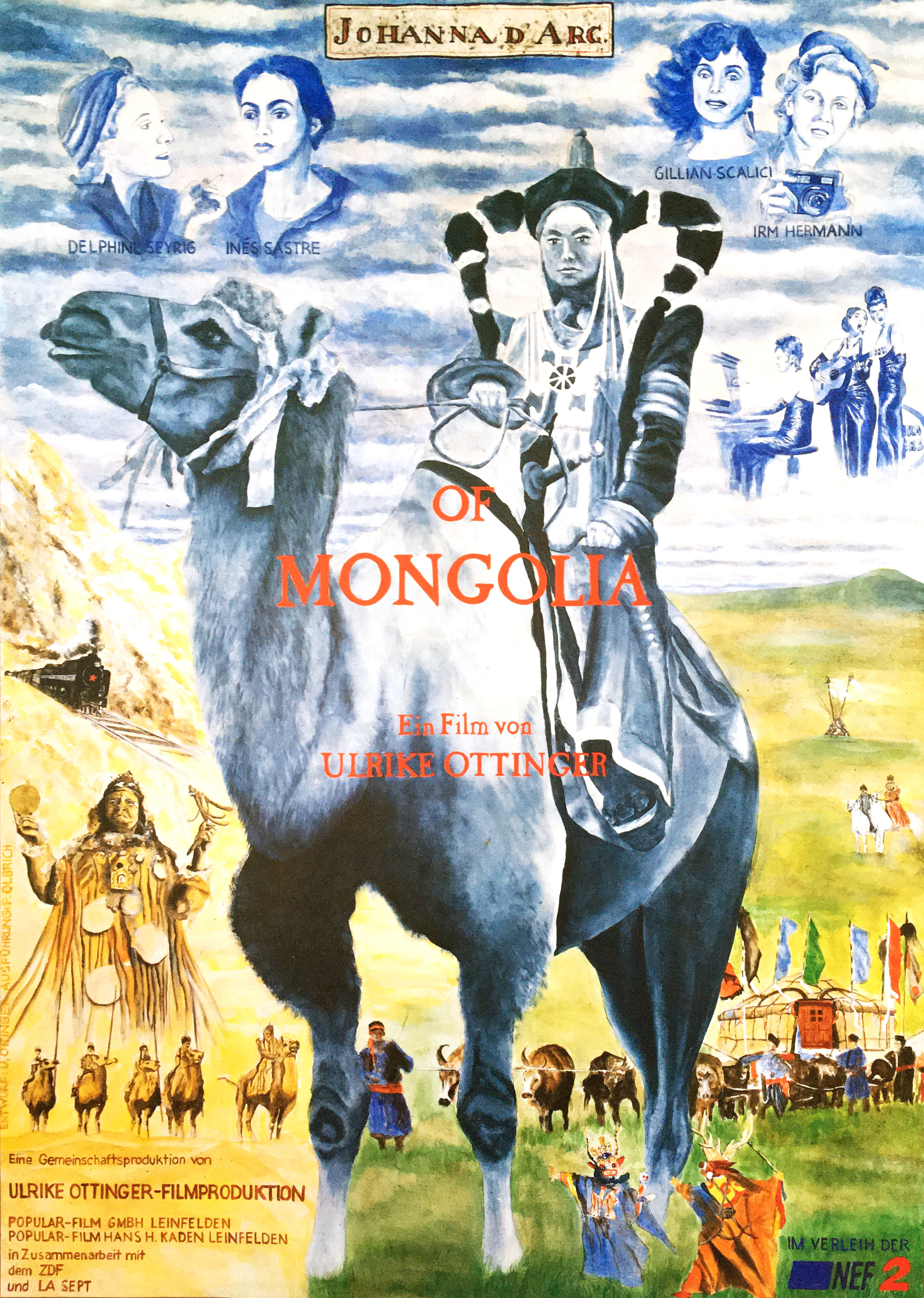 Johanna d'Arc of Mongolia film poster