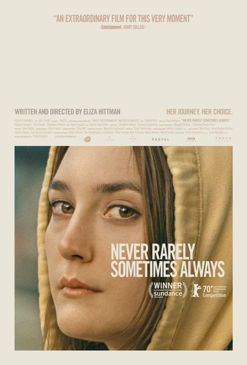 Never Rarely Sometimes Always film poster