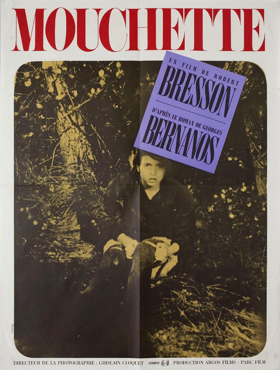 Mouchette film poster