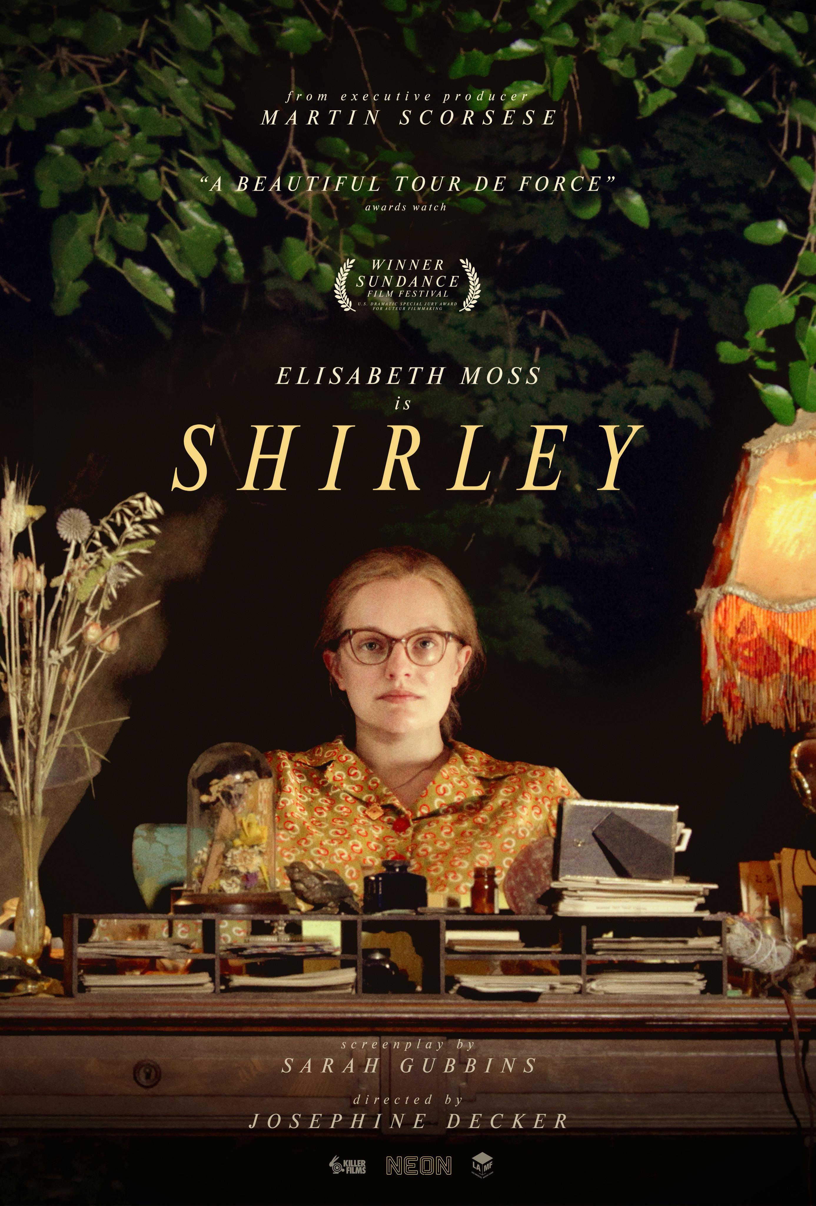 Shirley film poster